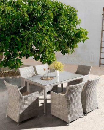 Calama rectangular dining table