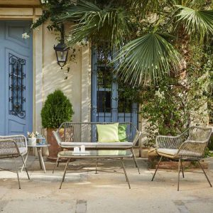 Niccolo sofa, table and chair