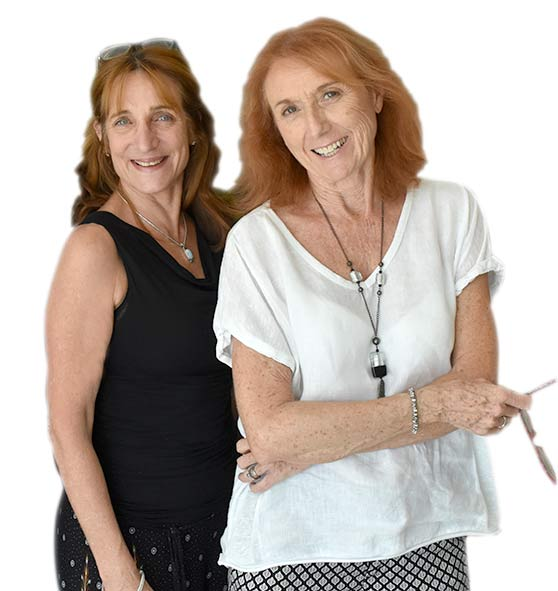 Meet the team, Liz and Viv