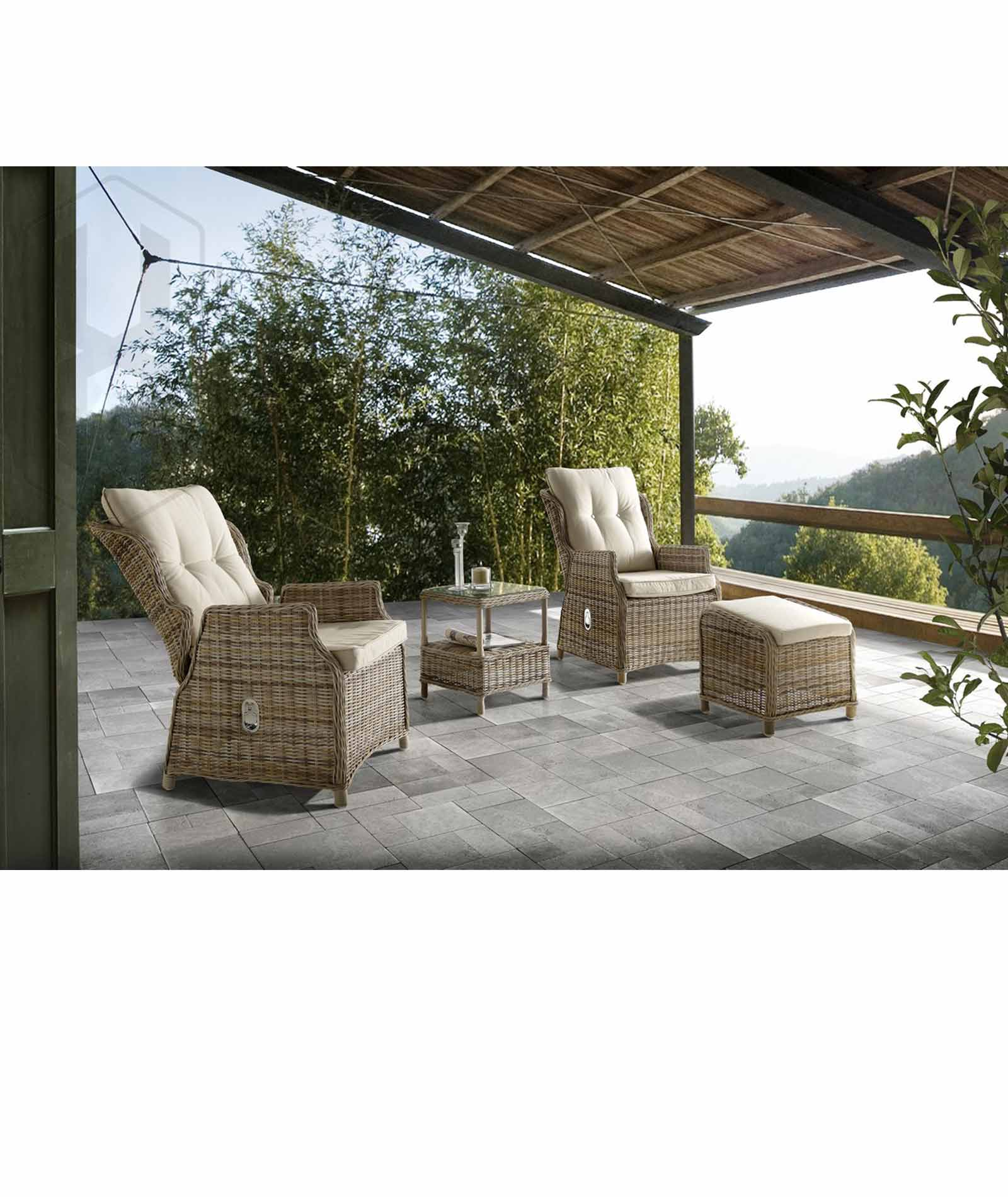 Picture of: Torino Reclining Chair Terraza Bella