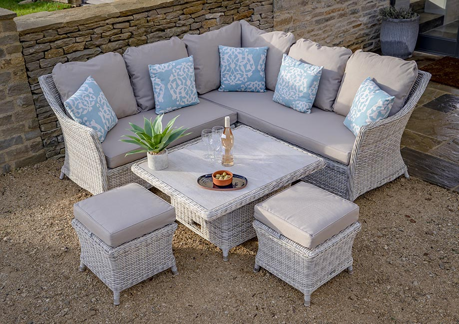 Ascot Mini Sofa Dining Set Terraza Bella