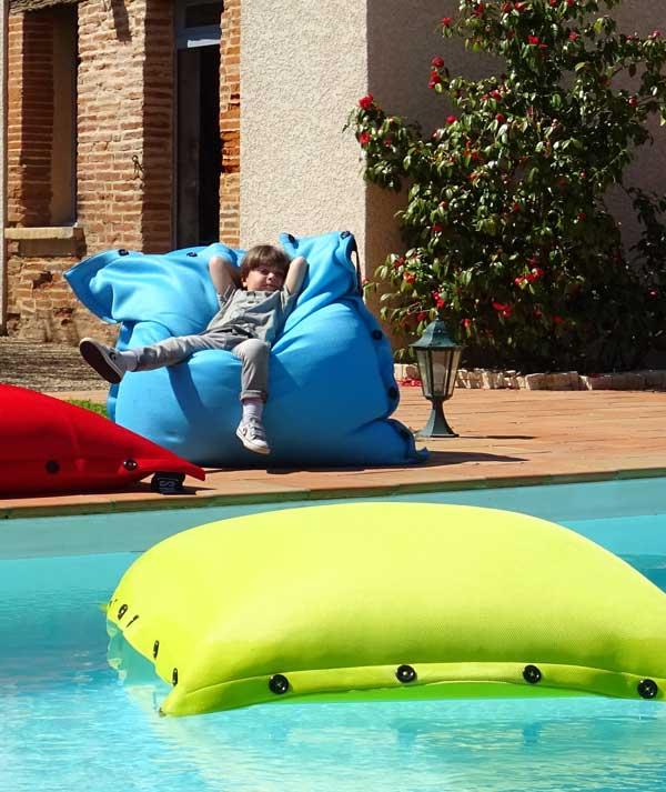 xl terrace pool floating cushion